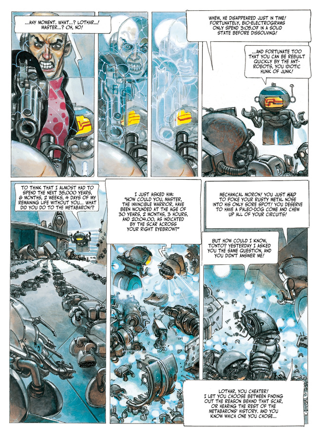 Excerpt 1 : The Metabarons #4 : Oda - Digital Comic