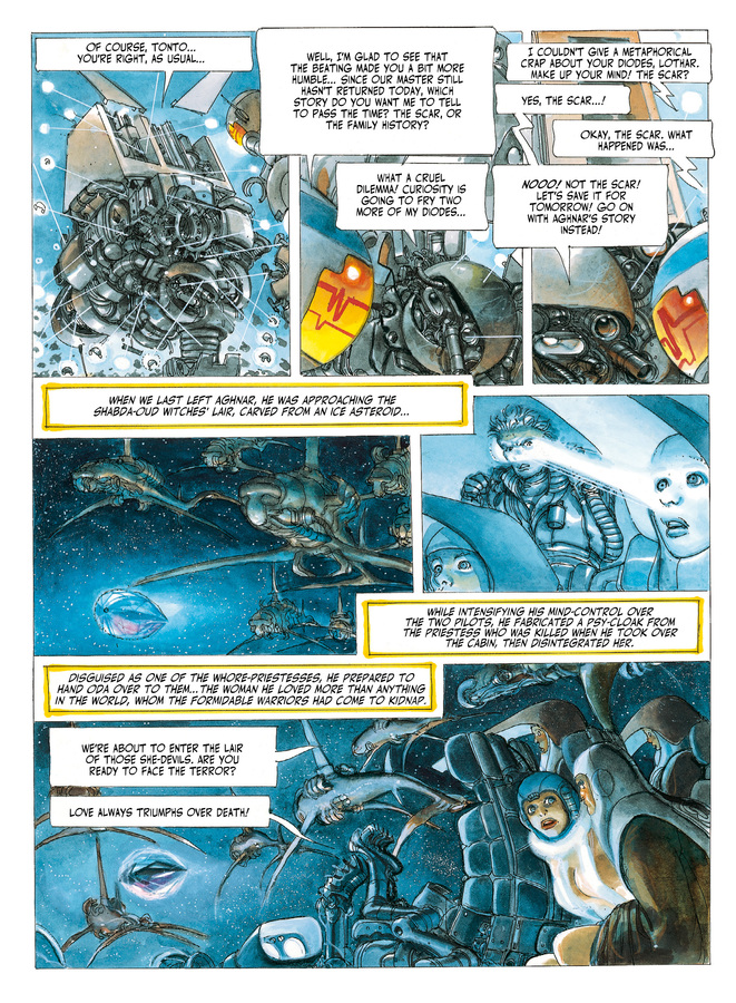 Excerpt 2 : The Metabarons #4 : Oda - Digital Comic