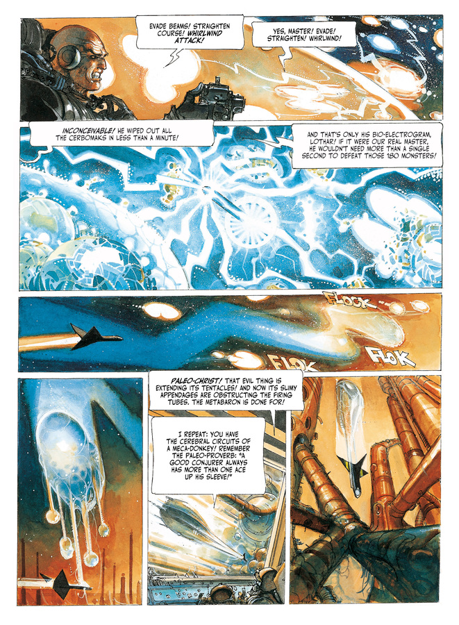 Excerpt 2 : The Metabarons #5 : Steelhead - Digital Comic