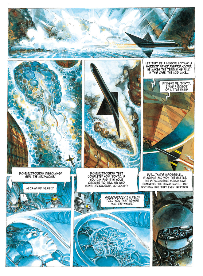 Excerpt 3 : The Metabarons #5 : Steelhead - Digital Comic