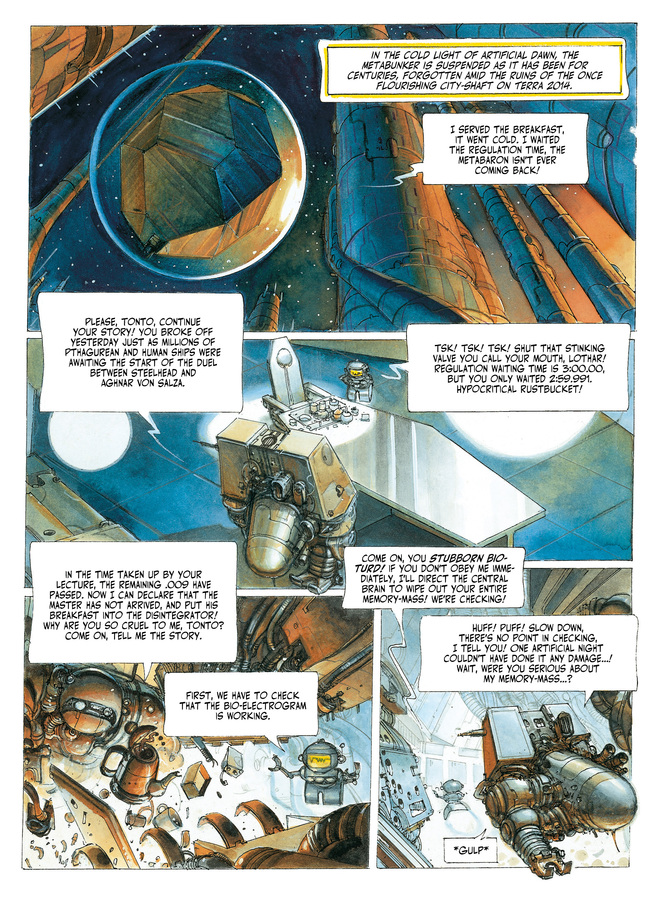 Excerpt 0 : The Metabarons #5 : Steelhead - Digital Comic