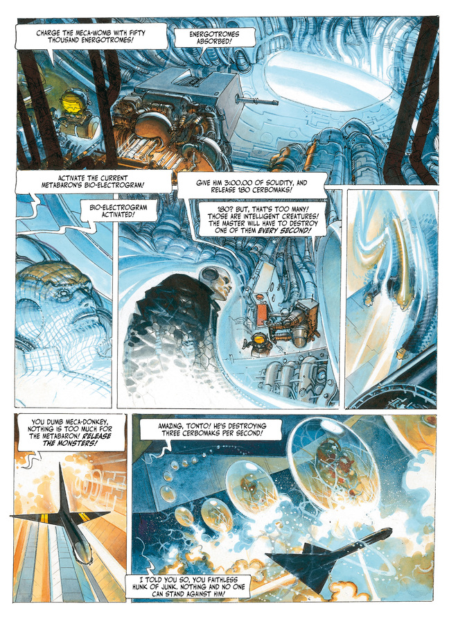 Excerpt 1 : The Metabarons #5 : Steelhead - Digital Comic