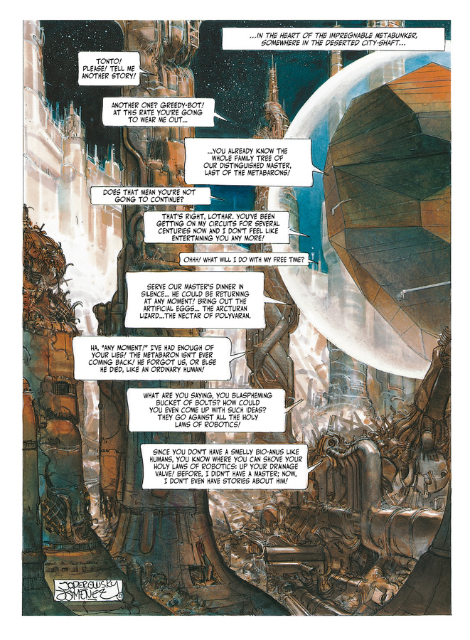 Excerpt 0 : The Metabarons #6 : Dona Vicenta - Digital Comic