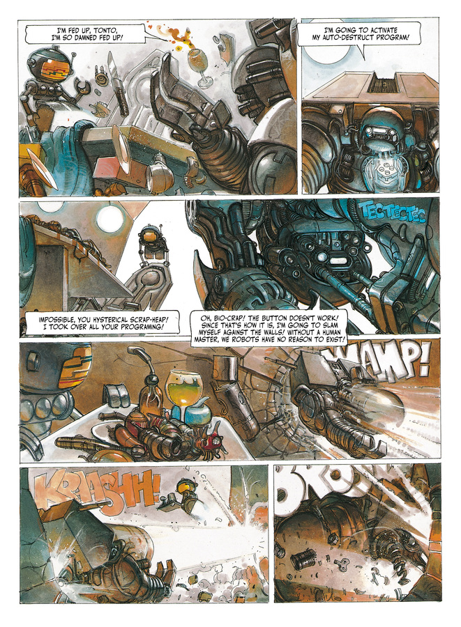 Excerpt 1 : The Metabarons #6 : Dona Vicenta - Digital Comic