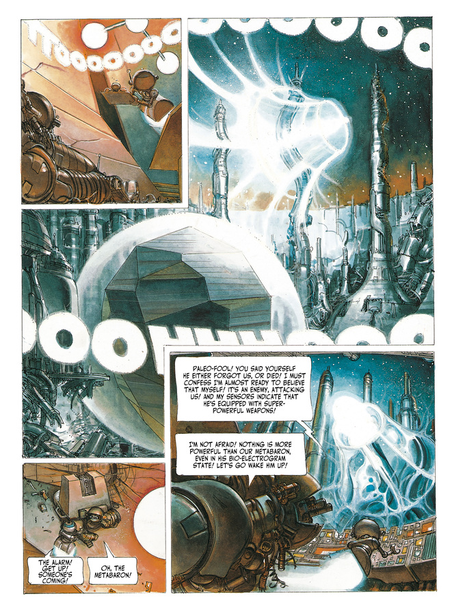Excerpt 2 : The Metabarons #6 : Dona Vicenta - Digital Comic