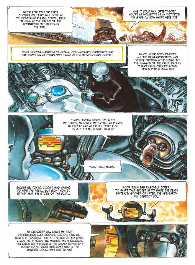 Excerpt 2 : The Metabarons #7 : Aghora - Digital Comic