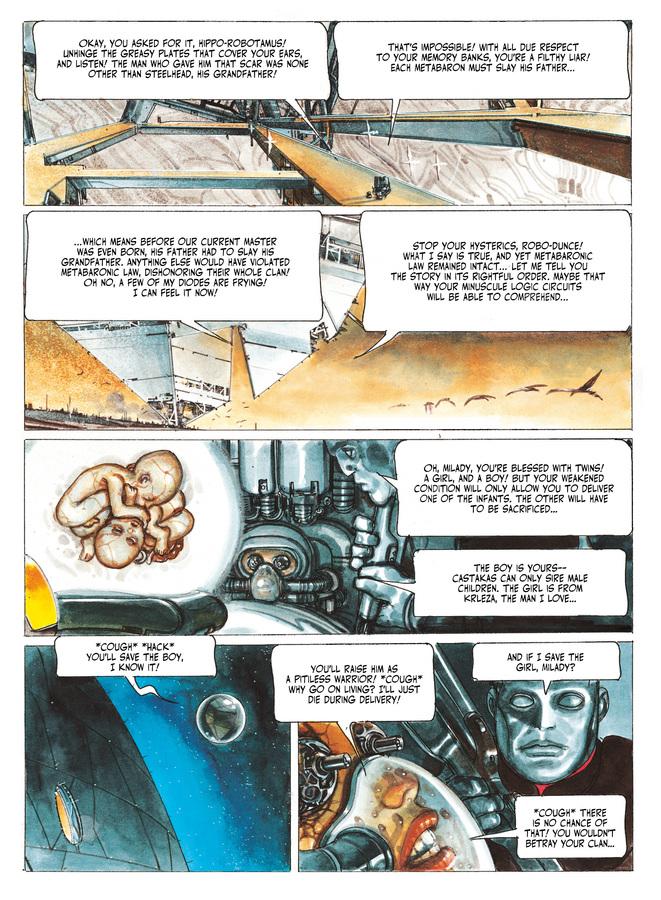 Excerpt 3 : The Metabarons #7 : Aghora - Digital Comic