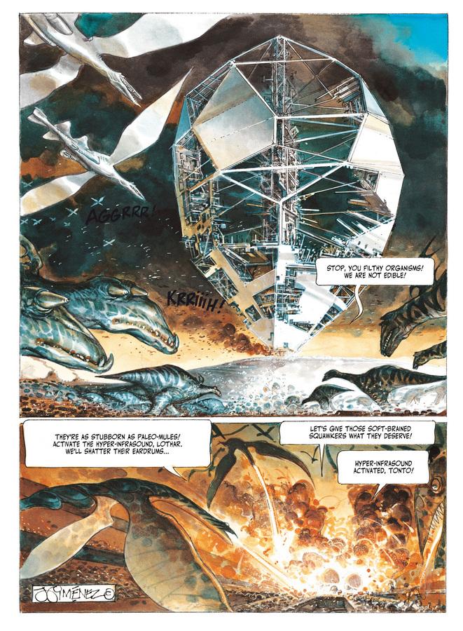 Excerpt 0 : The Metabarons #7 : Aghora - Digital Comic