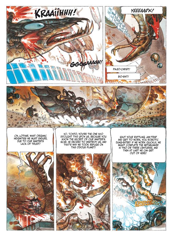 Excerpt 1 : The Metabarons #7 : Aghora - Digital Comic