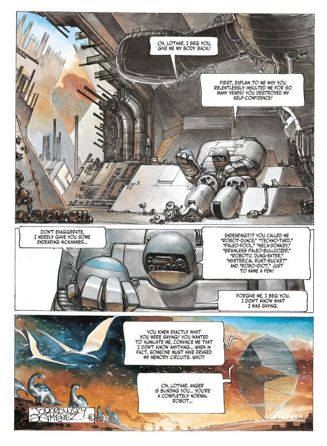 Excerpt 0 : The Metabarons #8 : No Name, The Last Metabaron - Digital Comic