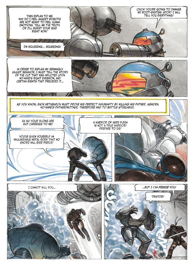 Excerpt 1 : The Metabarons #8 : No Name, The Last Metabaron - Digital Comic