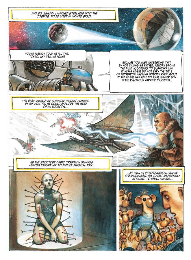 Excerpt 2 : The Metabarons #8 : No Name, The Last Metabaron - Digital Comic
