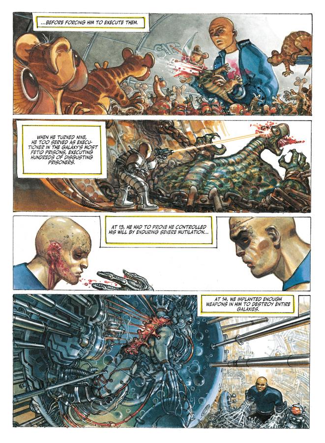 Excerpt 3 : The Metabarons #8 : No Name, The Last Metabaron - Digital Comic