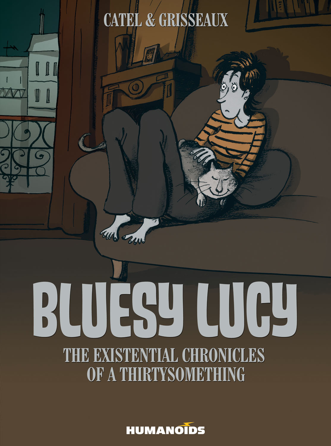 Bluesy Lucy - The Existential Chronicles of a Thirtysomething - Hardcover Trade