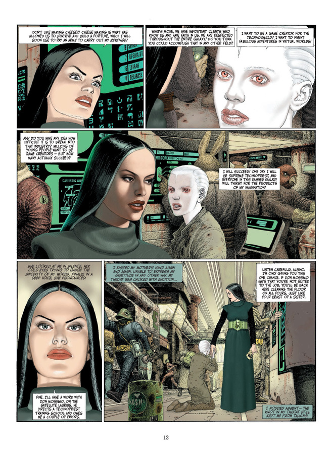 Extrait 1 : The Technopriests - Hardcover Trade