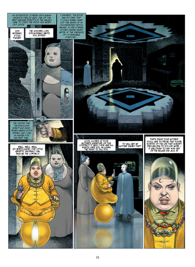 Extrait 2 : The Technopriests - Hardcover Trade