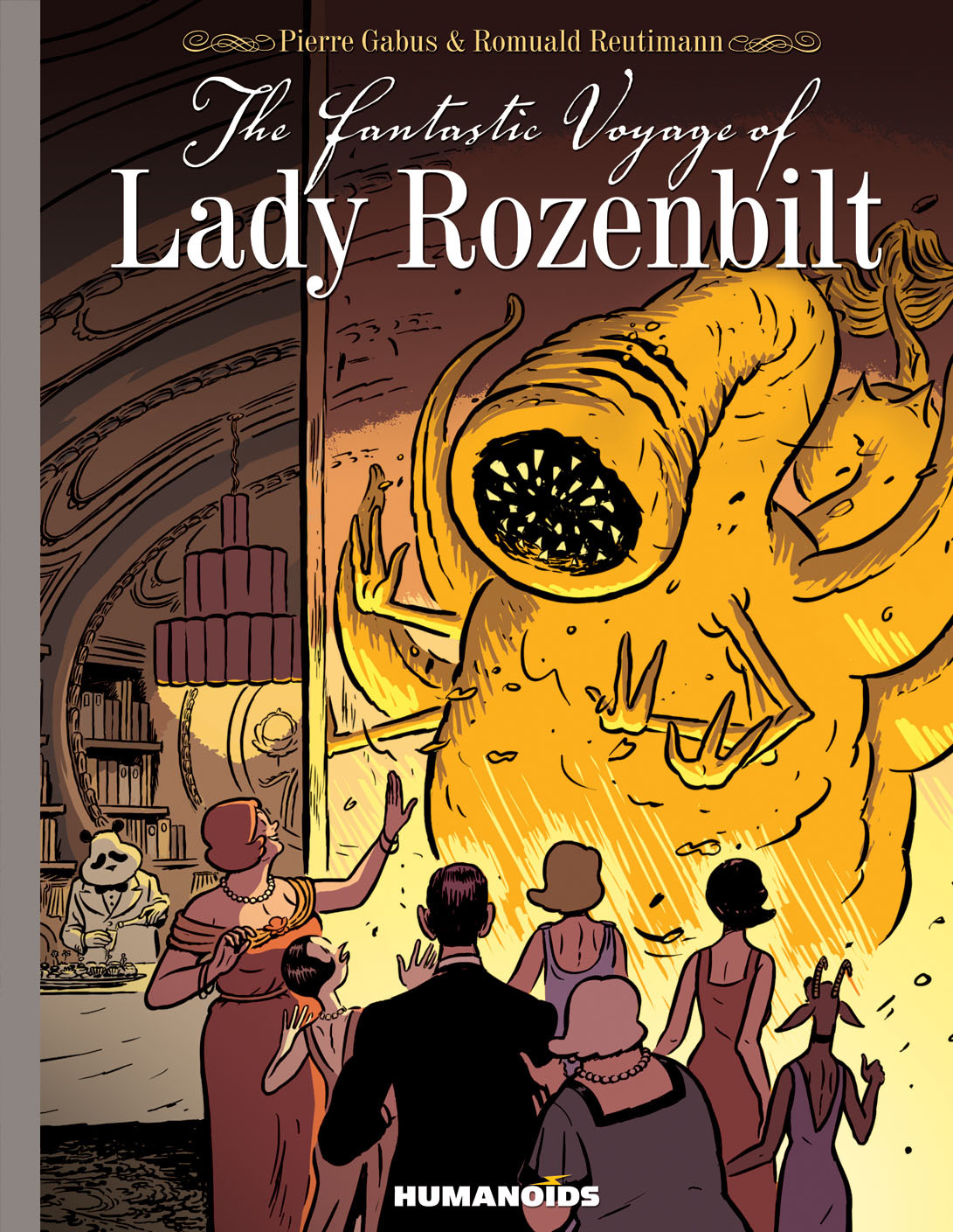 The Fantastic Voyage of Lady Rozenbilt  - Slightly Oversized