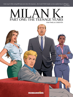 Milan K. : Part 1: The Teenage Years - Oversized Deluxe