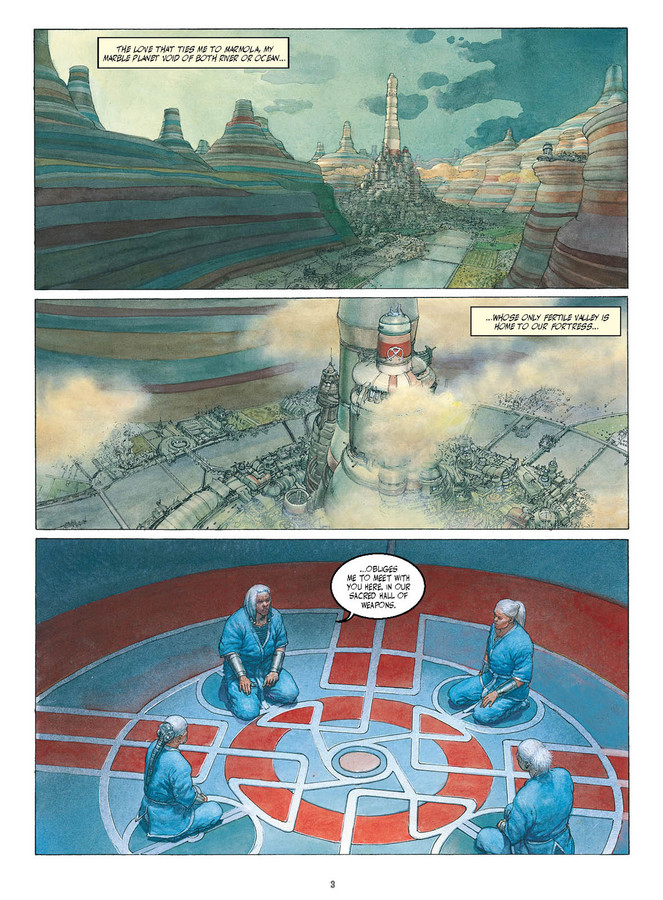 Excerpt 0 : Metabarons Genesis: Castaka - Digital Comic #1 : The First Ancestor