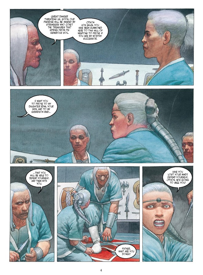 Excerpt 1 : Metabarons Genesis - Castaka #1 : The First Ancestor - Digital Comic
