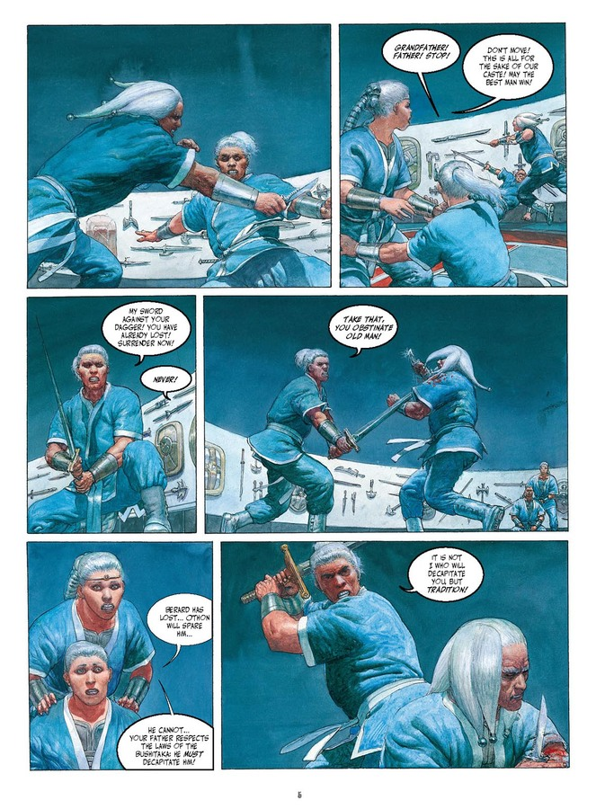 Excerpt 2 : Metabarons Genesis: Castaka - Digital Comic #1 : The First Ancestor