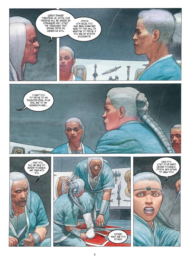 Excerpt 1 : Metabarons Genesis: Castaka #2 : The Rival Twins - Digital Comic