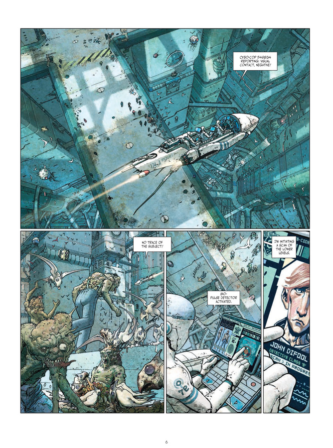 Excerpt 1 : Final Incal - Coffee Table Book : 200 Copies Limited Ultra-Deluxe Edition