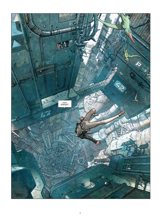 Excerpt 0 : Final Incal - Oversized Deluxe Edition : Classic Collection