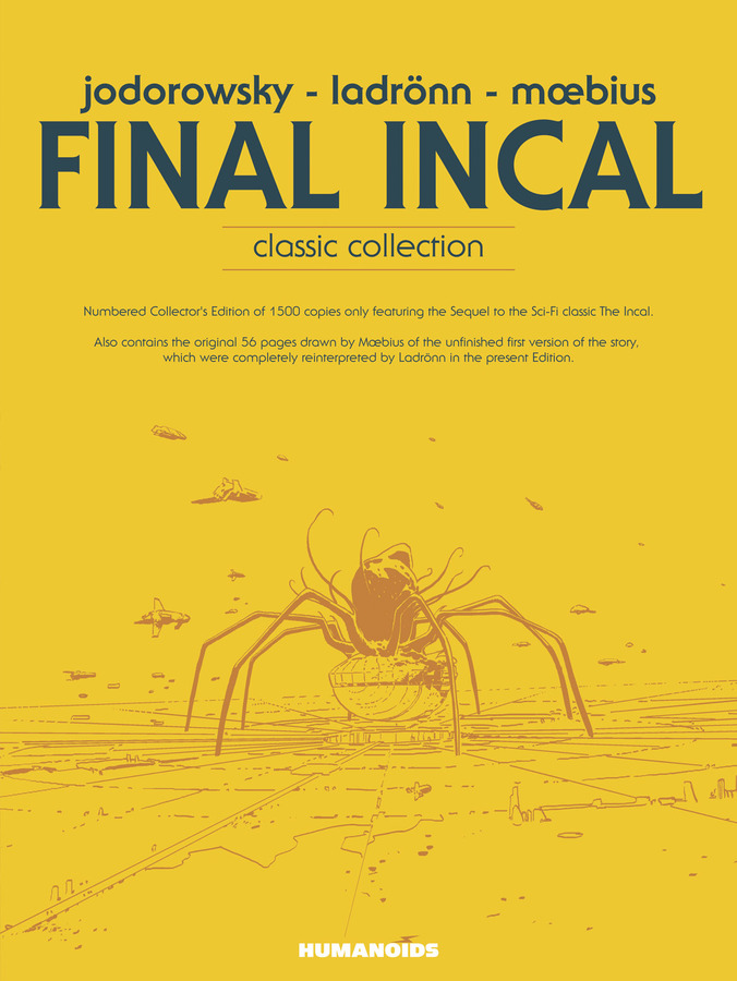 Excerpt 4 : Final Incal : Classic Collection - Oversized Deluxe