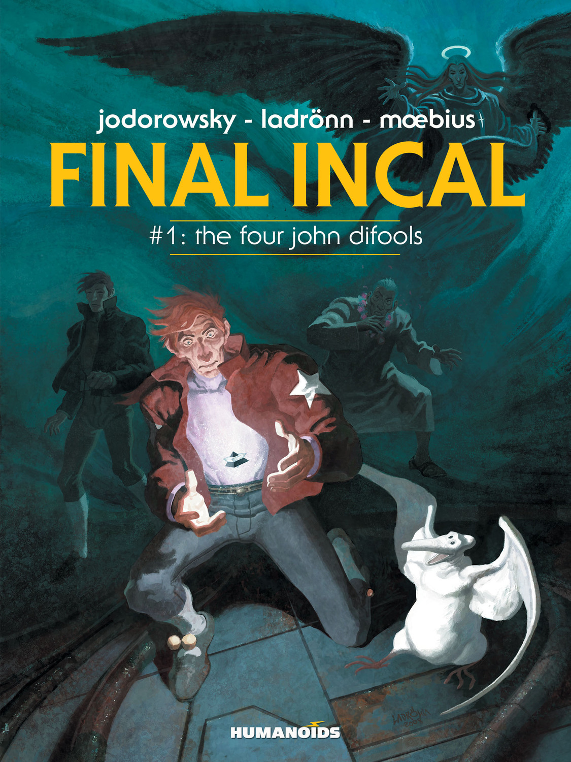 Final Incal #1 : The Four John Difools - Digital Comic