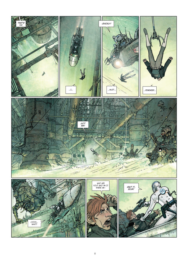 Excerpt 1 : Final Incal #1 : The Four John Difools - Digital Comic