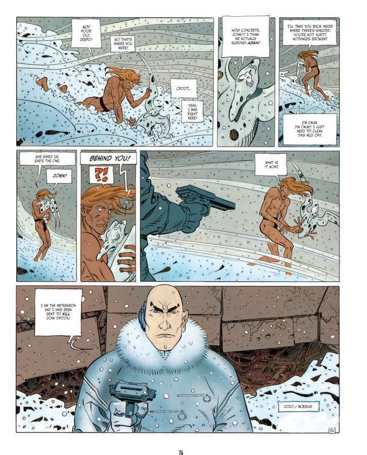 Excerpt 0 : The Incal - Hardcover Trade