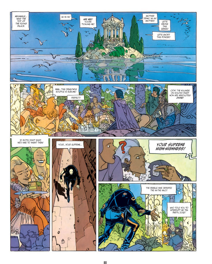 Excerpt 2 : The Incal - Hardcover Trade