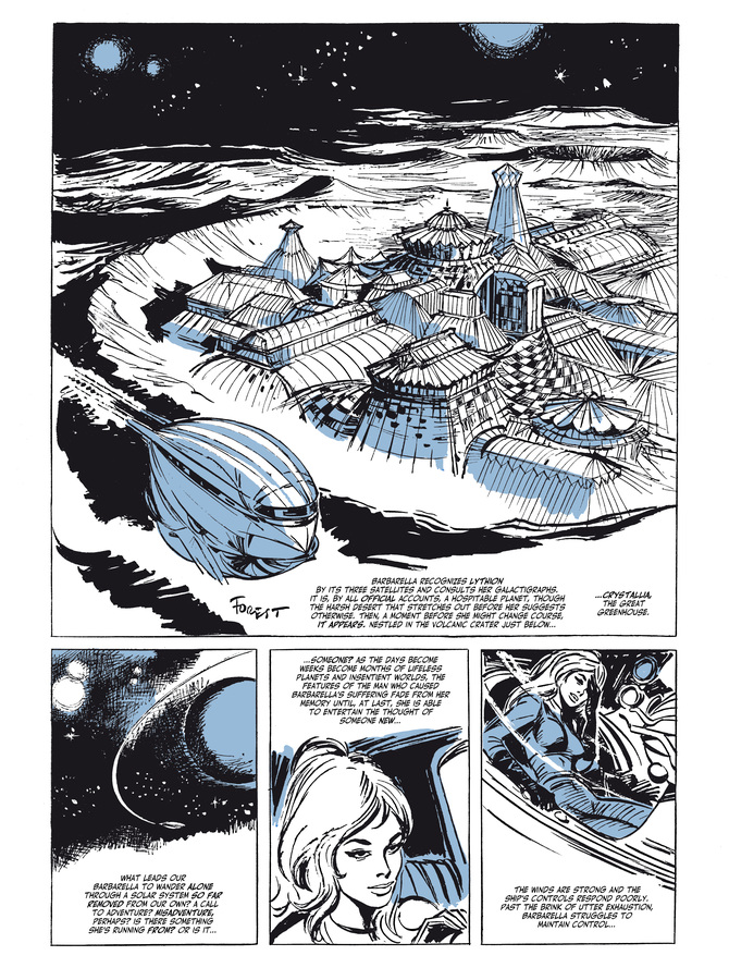Excerpt 0 : Barbarella #1 : Barbarella - Digital Comic