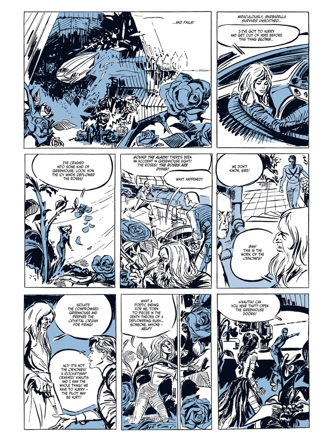 Excerpt 1 : Barbarella #1 : Barbarella - Digital Comic