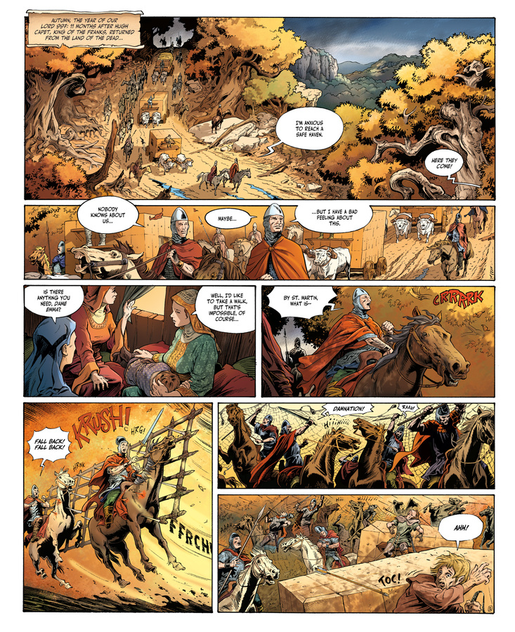 Excerpt 0 : Millennium #1 : The Hounds of God - Digital Comic