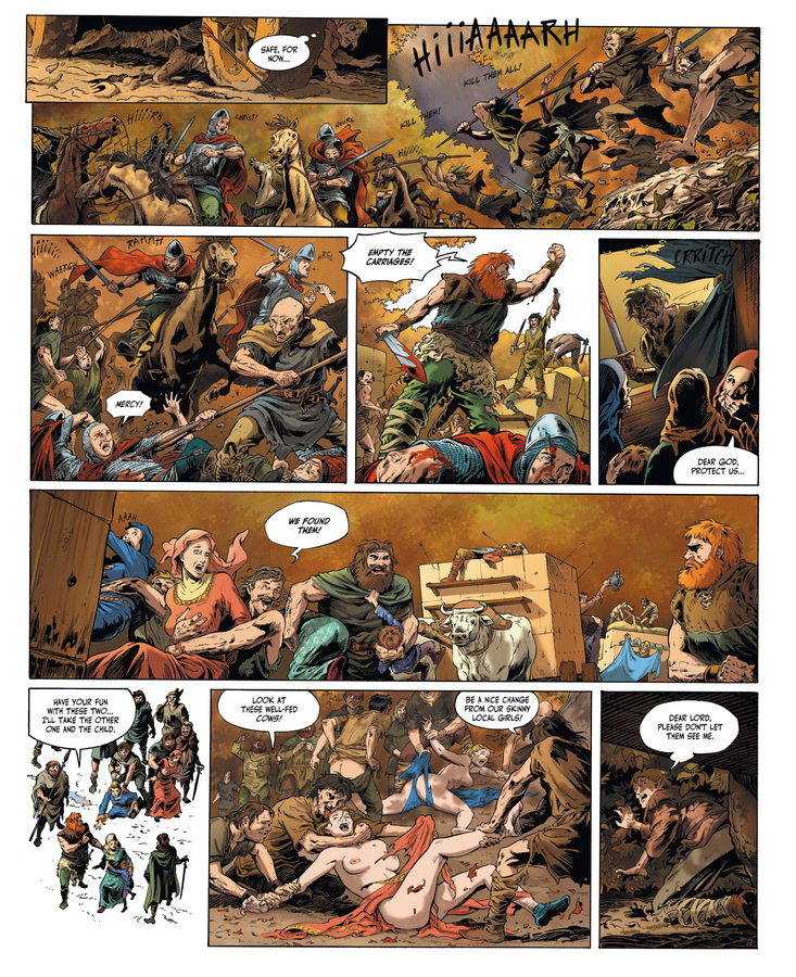 Excerpt 1 : Millennium #1 : The Hounds of God - Digital Comic