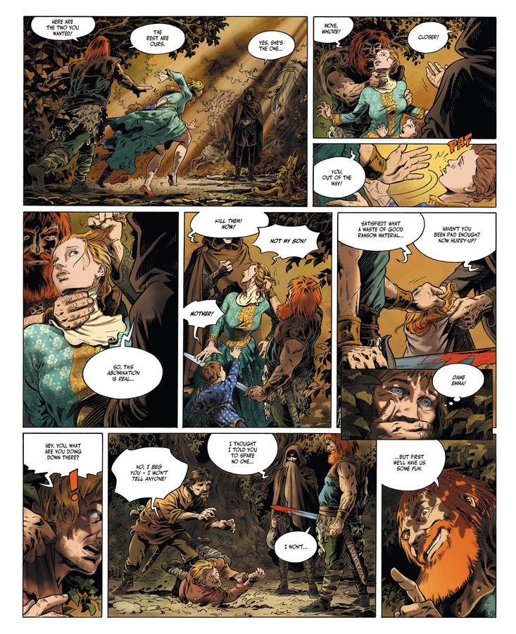 Excerpt 2 : Millennium #1 : The Hounds of God - Digital Comic