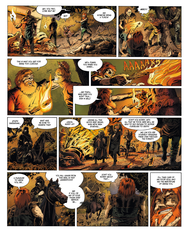 Excerpt 3 : Millennium #1 : The Hounds of God - Digital Comic