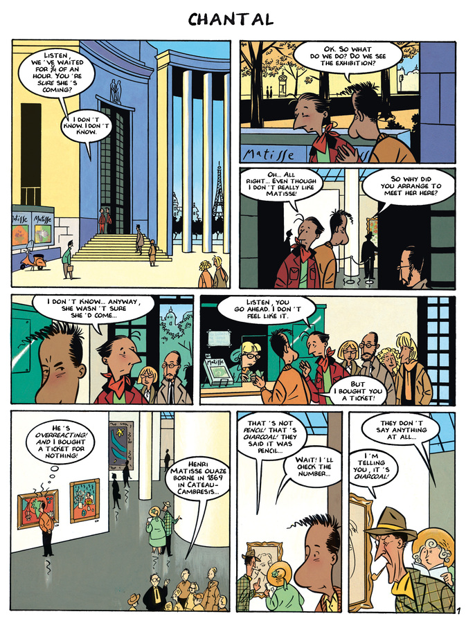Excerpt 2 : Monsieur Jean #1 : Love and Concierge - Digital Comic
