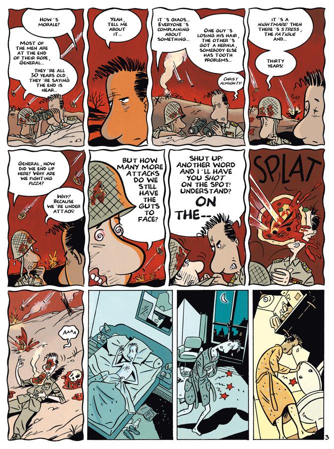 Excerpt 2 : Monsieur Jean #2 : Insomnia - Digital Comic