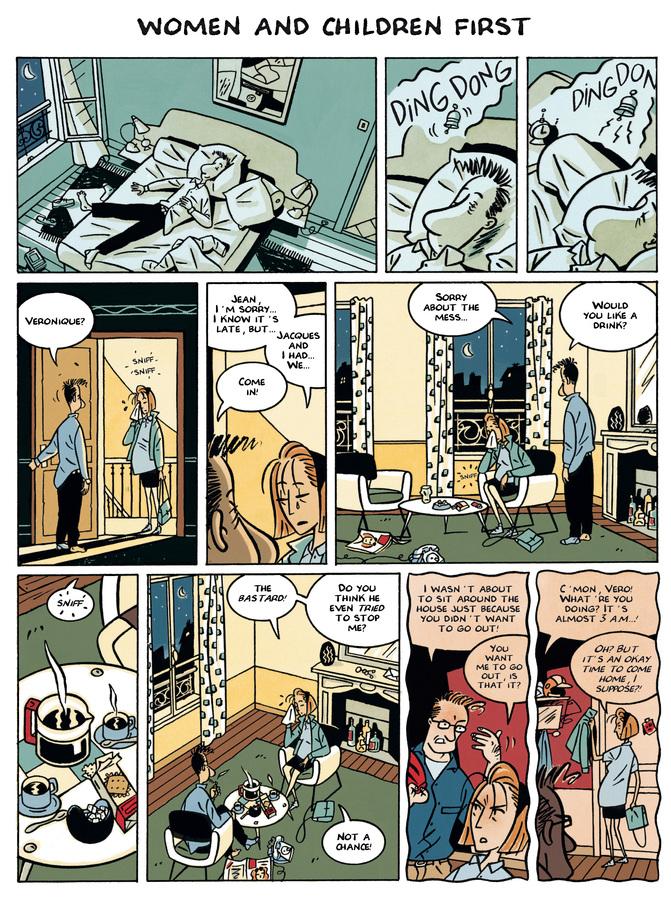 Excerpt 0 : Monsieur Jean #3 : Women and Children First - Digital Comic