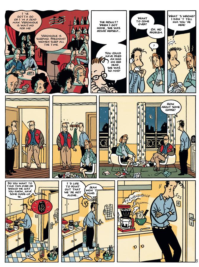 Excerpt 2 : Monsieur Jean #3 : Women and Children First - Digital Comic