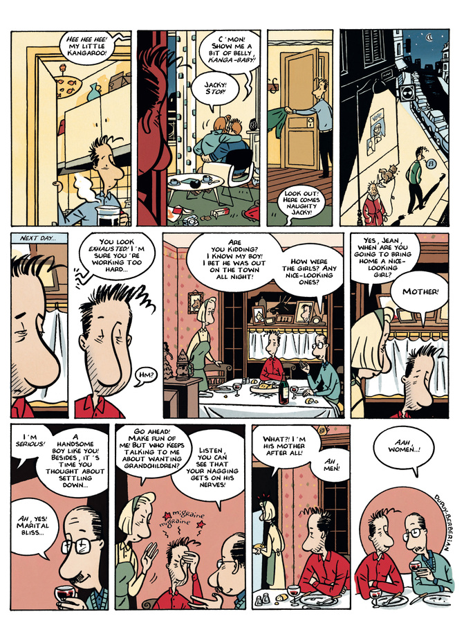 Excerpt 3 : Monsieur Jean #3 : Women and Children First - Digital Comic