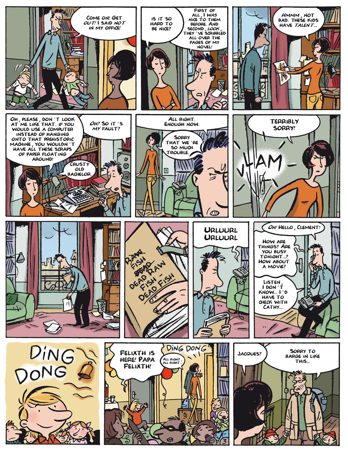 Excerpt 2 : Monsieur Jean #4 : Let's Be Happy But Not Show it - Digital Comic