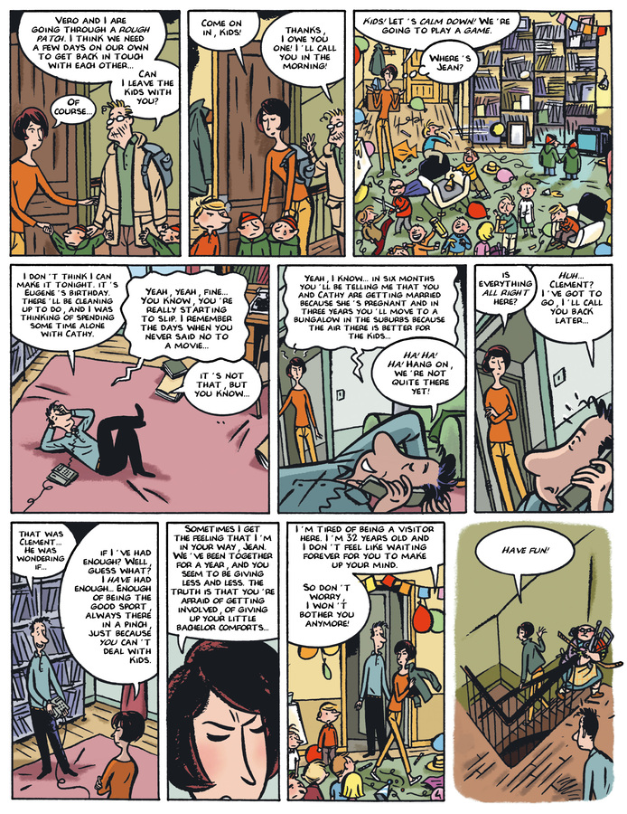 Excerpt 3 : Monsieur Jean #4 : Let's Be Happy But Not Show it - Digital Comic
