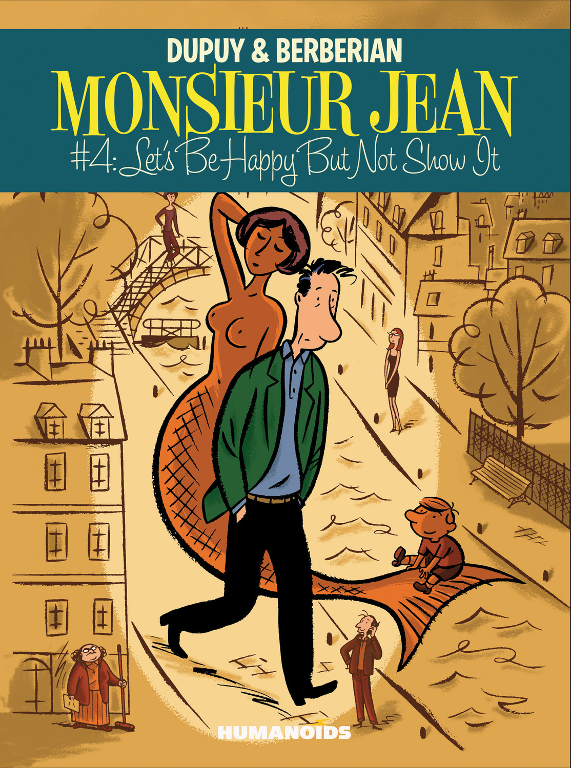 Monsieur Jean #4 : Let's Be Happy But Not Show it - Digital Comic