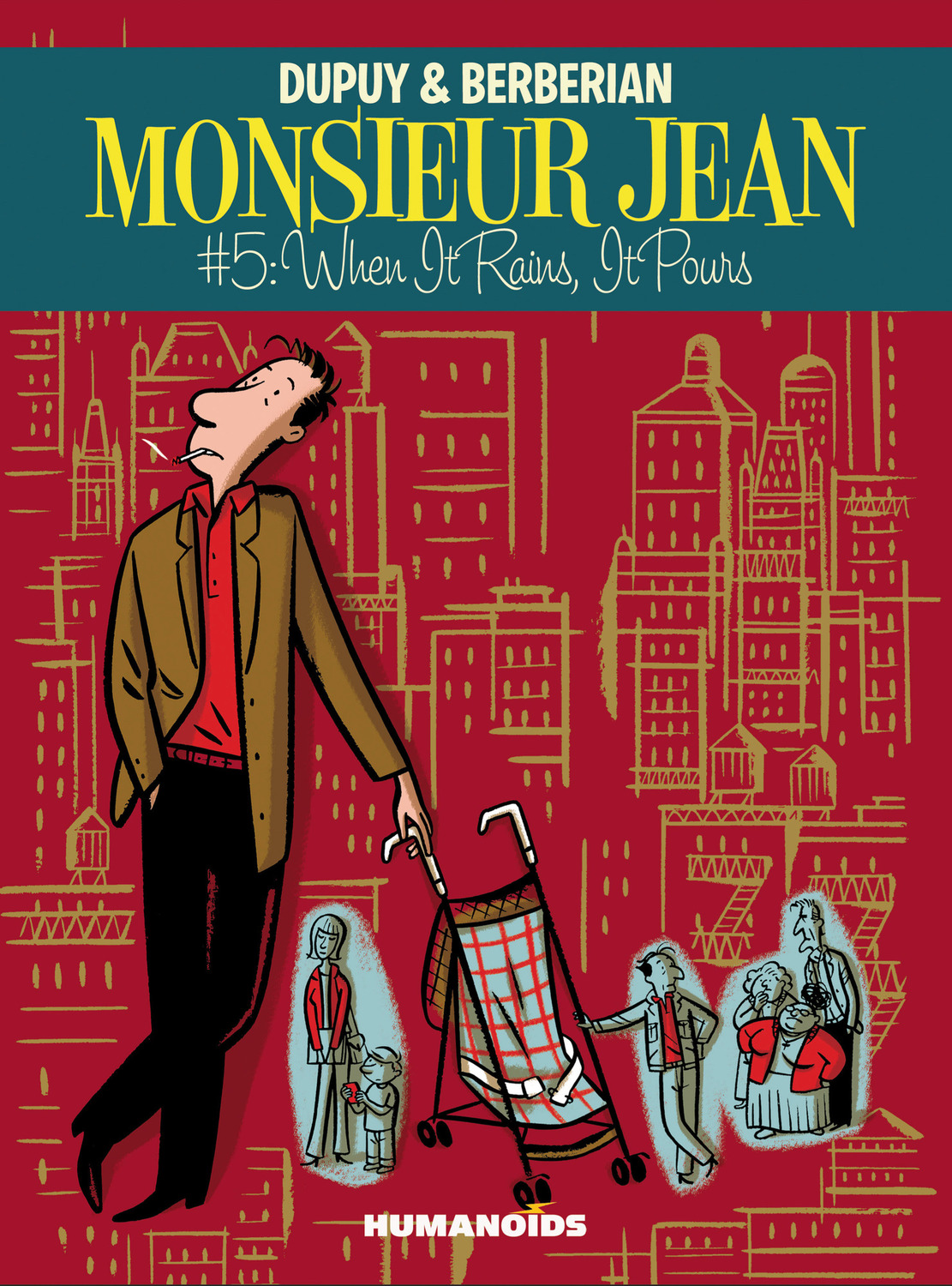 Monsieur Jean #5 : When it Rains, It Pours - Digital Comic