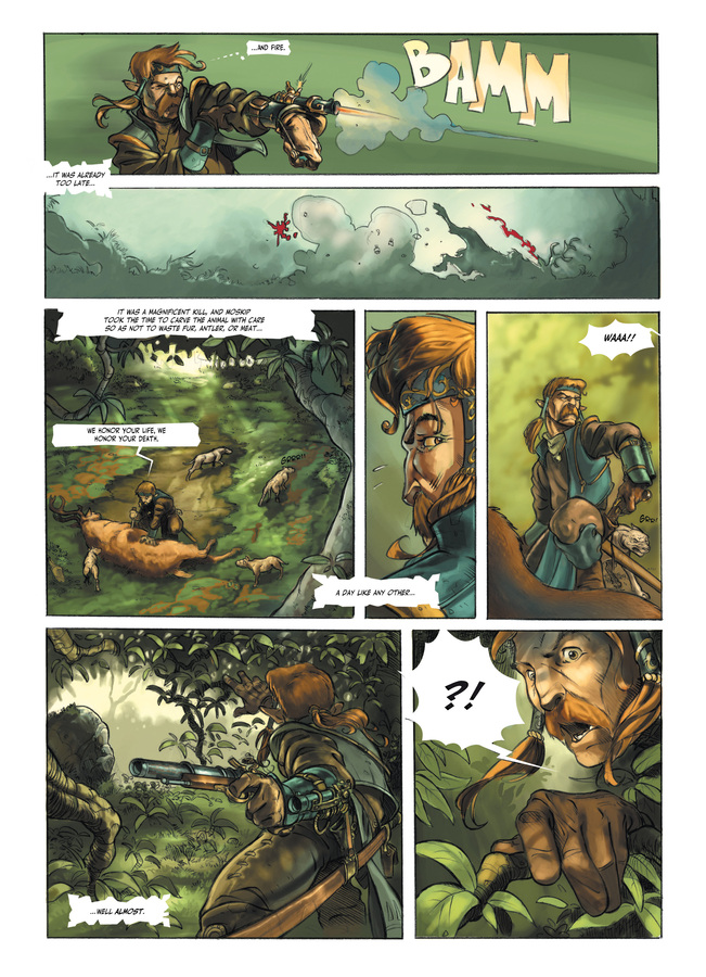 Excerpt 2 : Child of the Storm #1 : Blood Stones - Digital Comic