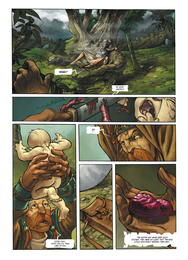 Excerpt 3 : Child of the Storm #1 : Blood Stones - Digital Comic